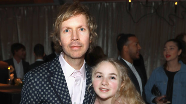 Beck and Tuesday at the Grammys