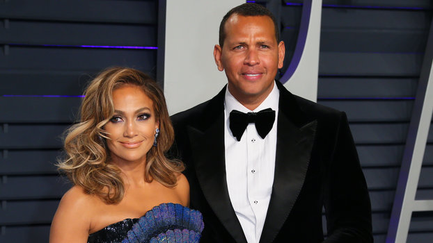 Jennifer Lopez and Alex Rodriguez Took Their Kids Out to the Ballgame in Their Backyard