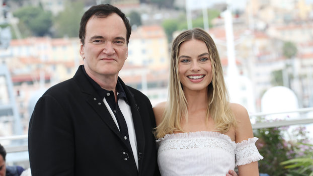 """Quentin Tarantino and Margot Robbie - """"Once Upon A Time In Hollywood"""" Photocall - The 72nd Annual Cannes Film Festival"""