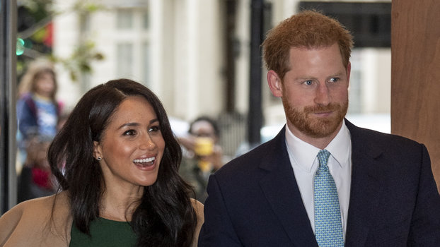 """Meghan Markle and Prince Harry Say the Queen Can't Legally Stop Them from Using the Term """"Royal"""""""