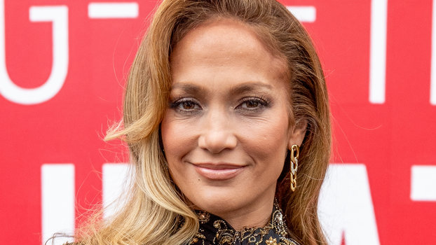 Jennifer Lopez Wears Baublebar Michel Drop Earrings