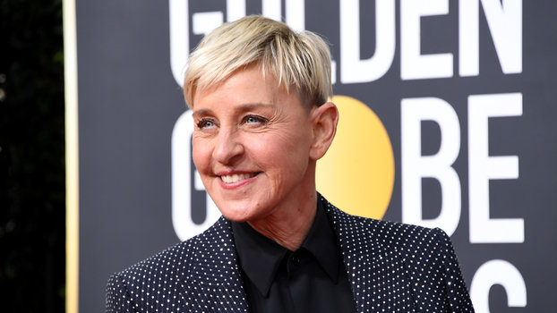 Ellen DeGeneres Golden Globes Hair