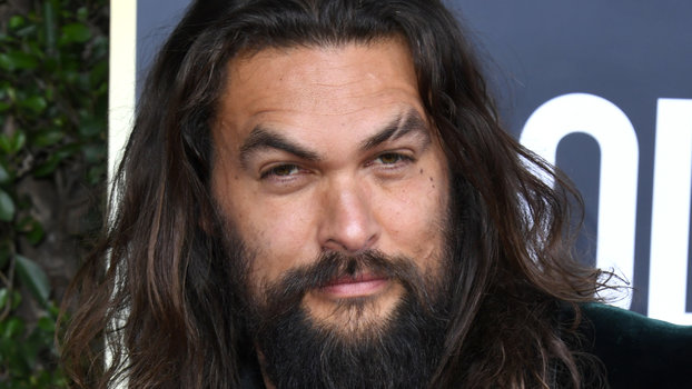 Jason Momoa Golden Globe Awards 2020