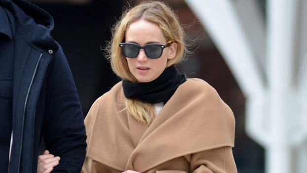 Jennifer Lawrence Hasn't Forgotten About Classic Camel Coats and Now Neither Can We