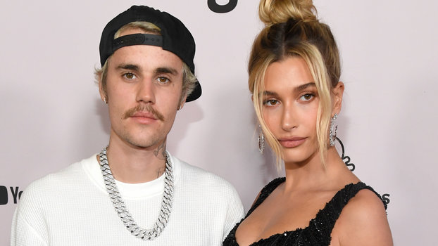Watch Hailey Bieber Walk Down the Aisle to Meet Justin