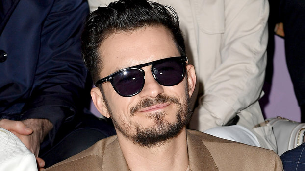 Orlando Bloom - Boss - Front Row - Milan Fashion Week Fall/Winter 2020-2021