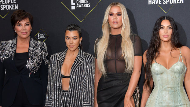 Kourtney Kardashian, Kim Kardashian, Khloe Kardashian, Kris Jenner - 2019 E! People's Choice Awards