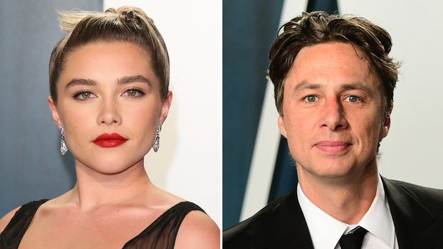 Florence Pugh Has a Message for Critics of Her Relationship with Zach Braff