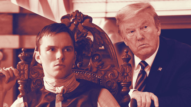 The Great Nicholas Hoult Donald Trump