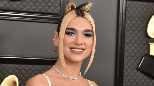 Dua Lipa at the 62nd Annual Grammy Awards
