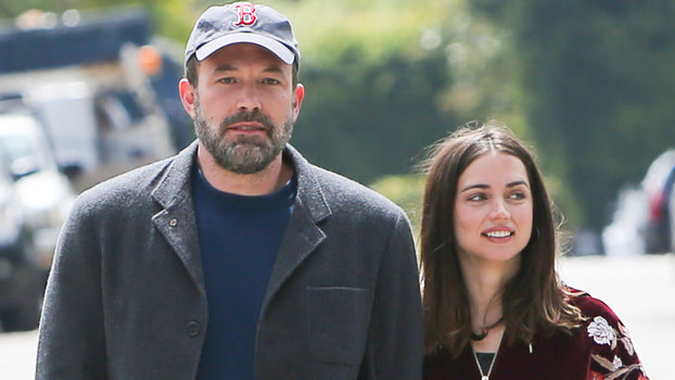 Ben Affleck and Ana de Armas - L.A., March 28, 2020