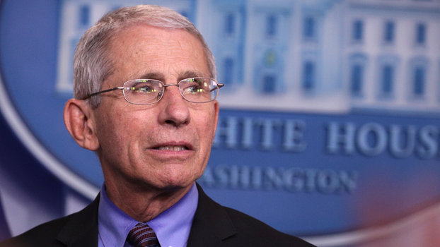 Dr. Anthony Fauci - White House Coronavirus Task Force Holds Daily Briefing At The White House