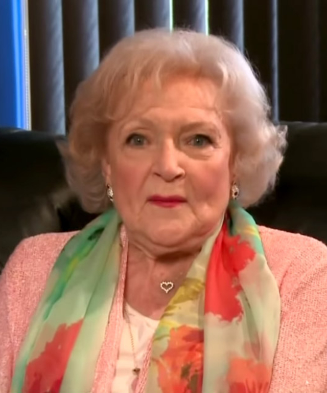 Betty White on James Corden