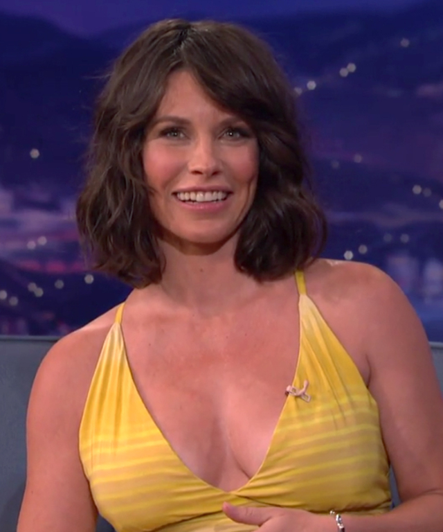 Evangeline Lilly on Conan