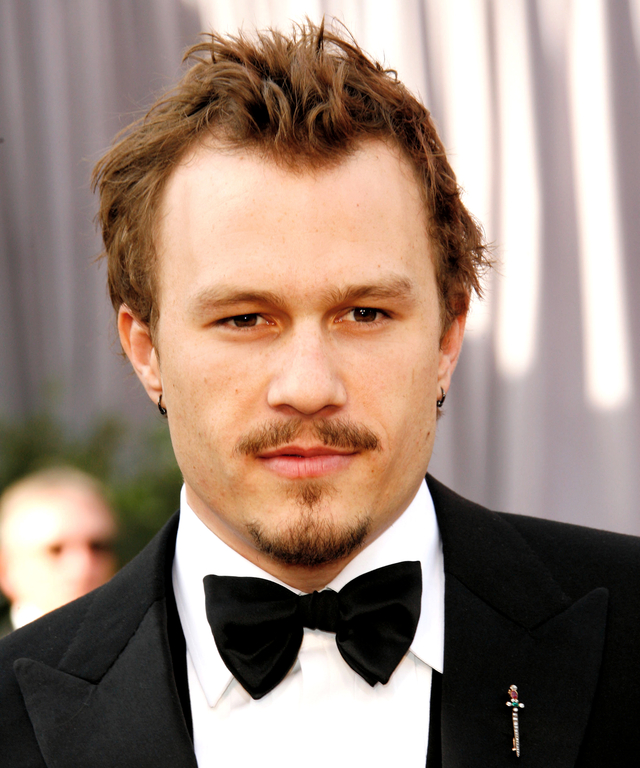 Heath Ledger, nominee Best Actor in a Leading Role for  Brokeback Mountain  (Photo by Dan MacMedan/WireImage)