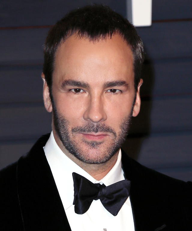 BEVERLY HILLS, CA - FEBRUARY 22: Fashion designer Tom Ford attends the 2015 Vanity Fair Oscar Party hosted by Graydon Carter at the Wallis Annenberg Center for the Performing Arts on February 22, 2015 in Beverly Hills, California. (Photo by David Livingst