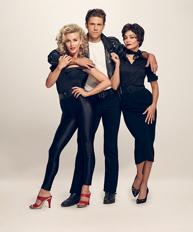 Julianne Hough, Aaron Tveit and Vanessa Hudgens in GREASE: LIVE airing LIVE Sunday, Jan. 31, 2016