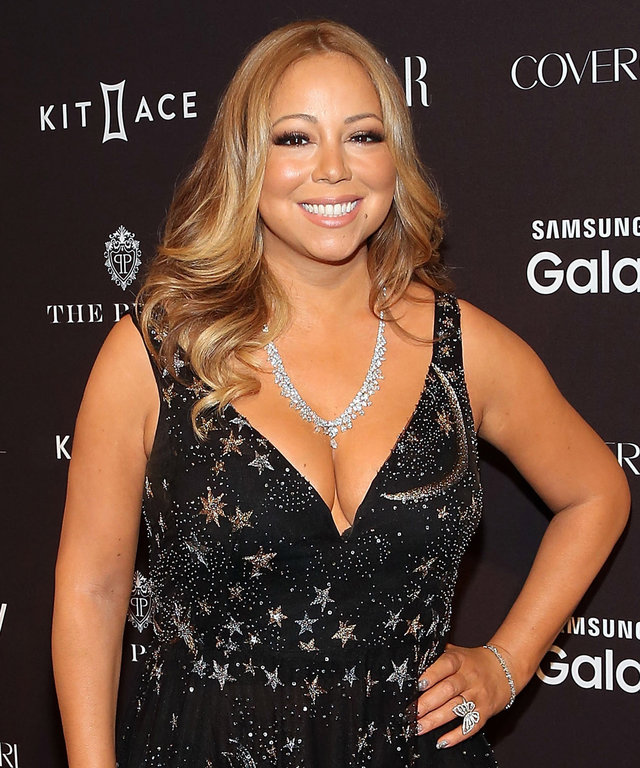 NEW YORK, NY - SEPTEMBER 16: Mariah Carey attends the 2015 Harper ICONS party at The Plaza Hotel on September 16, 2015 in New York City. (Photo by Taylor Hill/FilmMagic)