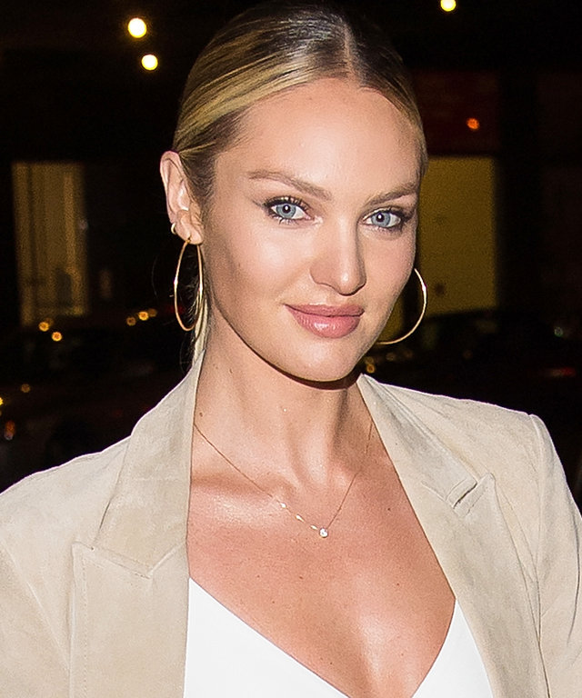 NEW YORK, NY - DECEMBER 08:  Model Candice Swanepoel attends the 2015 Victoria's Secret Fashion Show viewing party at Highline Stages on December 8, 2015 in New York City.  (Photo by Michael Stewart/WireImage)