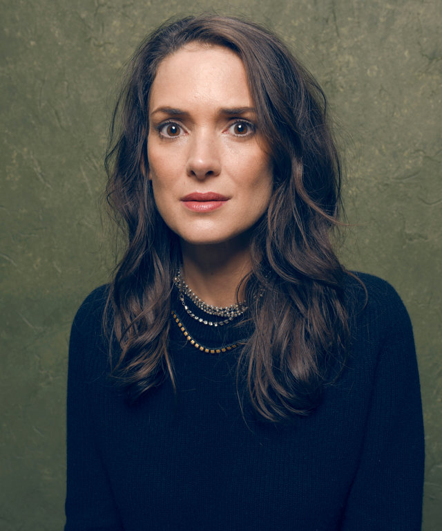 PARK CITY, UT - JANUARY 24:  Actress Winona Ryder from  Experimenter  poses for a portrait at the Village at the Lift Presented by McDonald's McCafe during the 2015 Sundance Film Festival on January 24, 2015 in Park City, Utah.  (Photo by Larry Busacca)