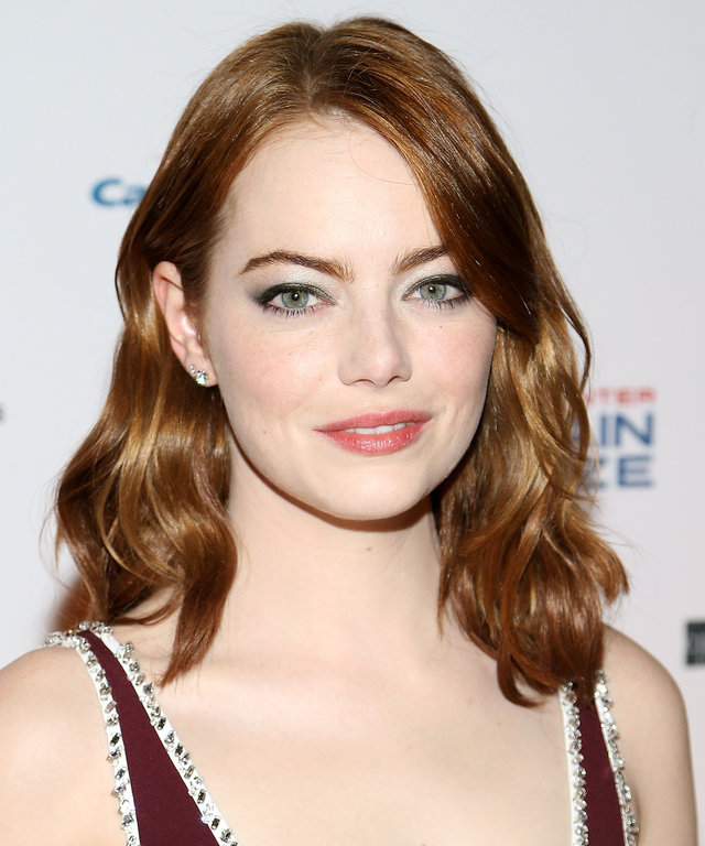 WASHINGTON, DC - OCTOBER 23:  Actress Emma Stone arrives to The Kennedy Center Mark Twain Prize Honors Bill Murray event at The Kennedy Center on October 23, 2016 in Washington, DC.  (Photo by Paul Morigi/WireImage)