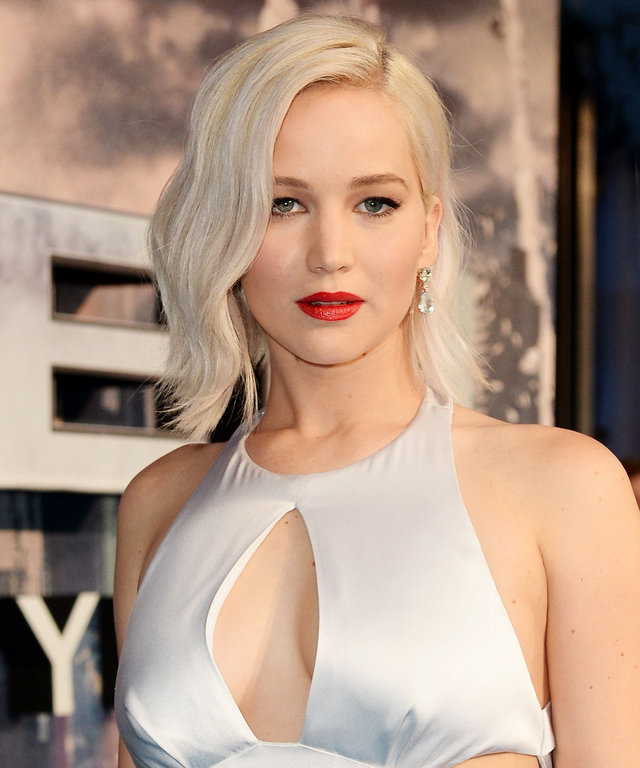 Mandatory Credit: Photo by Jonathan Hordle/REX/Shutterstock (5679060cu) Jennifer Lawrence 'X-Men Apocalypse' film premiere, BFI Imax, London, Britain - 09 May 2016