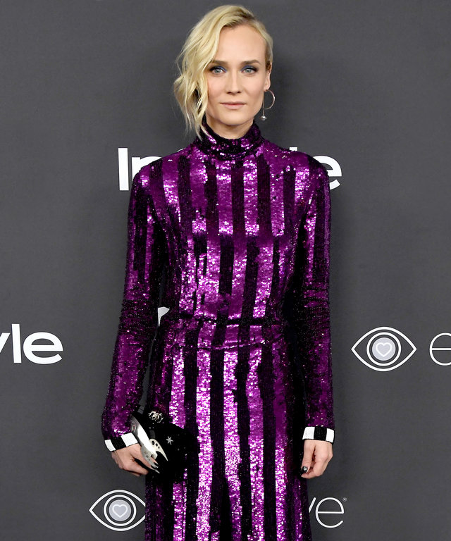 BEVERLY HILLS, CA - JANUARY 08:  Actress Diane Kruger attends the 18th Annual Post-Golden Globes Party hosted by Warner Bros. Pictures and InStyle at The Beverly Hilton Hotel on January 8, 2017 in Beverly Hills, California.  (Photo by Frazer Harrison/Gett