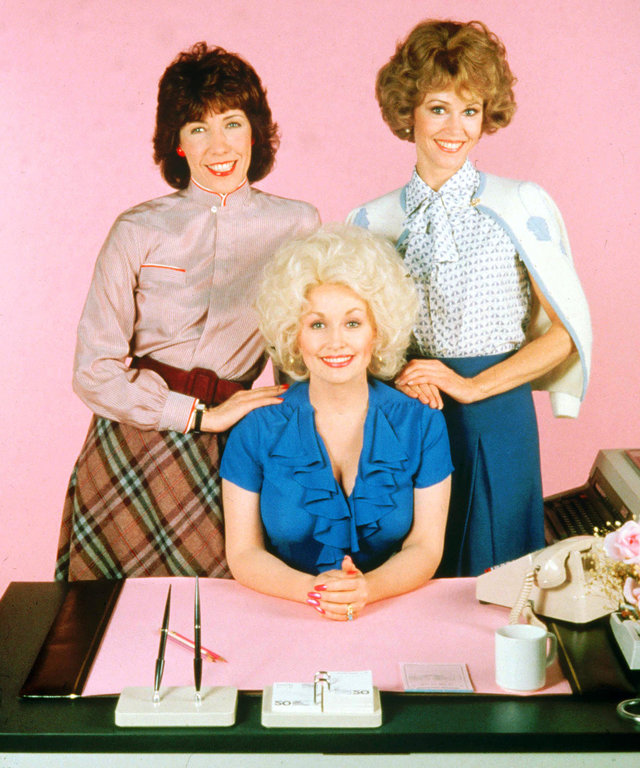 No Merchandising. Editorial Use Only. No Book Cover Usage. Mandatory Credit: Photo by 20th Century Fox/REX/Shutterstock (5883248l) Lily Tomlin, Dolly Parton, Jane Fonda Nine To Five - 1980 Director: Colin Higgins 20th Century Fox USA Film Portrait Comedy