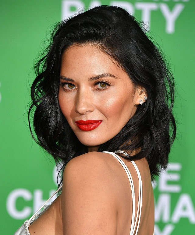 WESTWOOD, CA - DECEMBER 07:  Olivia Munn arrives at the Premiere Of Paramount Pictures'  Office Christmas Party  at Regency Village Theatre on December 7, 2016 in Westwood, California.  (Photo by Steve Granitz/WireImage)
