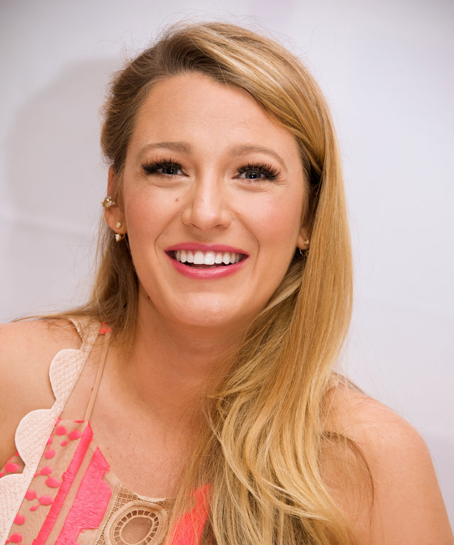 NEW YORK, NY - JULY 12:  Blake Lively at the  Cafe Society  Press Conference at the Conrad Hotel on July 12, 2016 in New York City.  (Photo by Vera Anderson/WireImage)