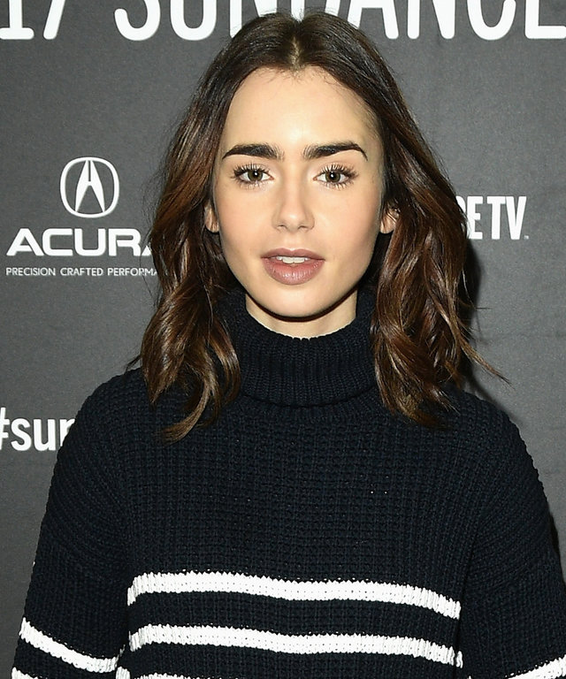 PARK CITY, UT - JANUARY 22:  Actress Lily Collins attends the  To The Bone  Premiere on day 4 of the 2017 Sundance Film Festival at Eccles Center Theatre on January 22, 2017 in Park City, Utah.  (Photo by George Pimentel/Getty Images for Sundance Film Fes