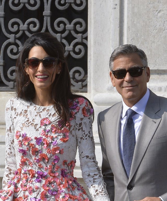 Amal Clooney Post-Wedding Dress