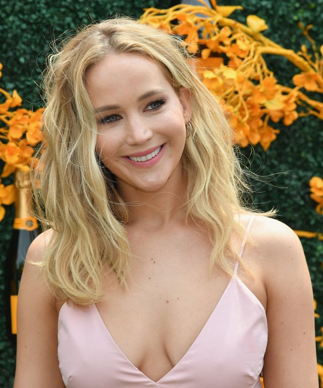 Jennifer Lawrence at the 2019 Veuve Clicquot Polo Classic