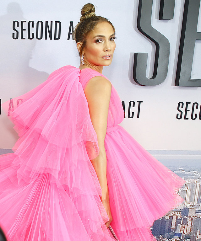 Jennifer Lopez at the Jennifer Lopez 2018 at the world premiere of  Second Act