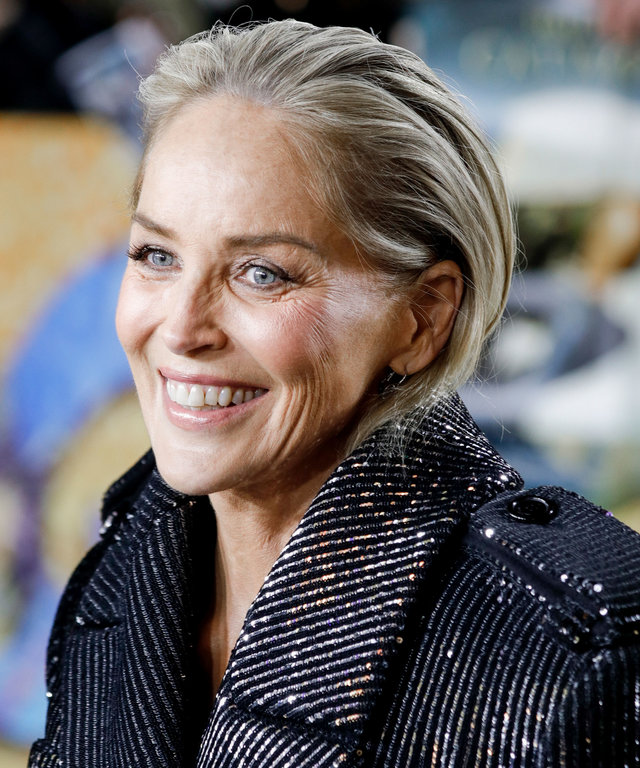 Sharon Stone Coronavirus Birthday Party Temperature