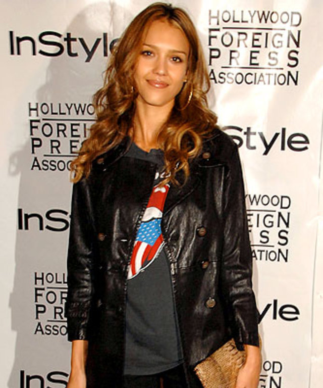 Jessica Alba, In Style and the Hollywood Foreign Press Association annual Toronto International Film Festival Party, 2007 Toronto Film Festival
