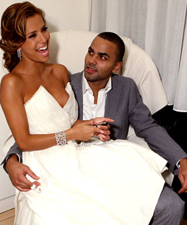 Eva Longoria and Tony Parker, Wedding Day Details