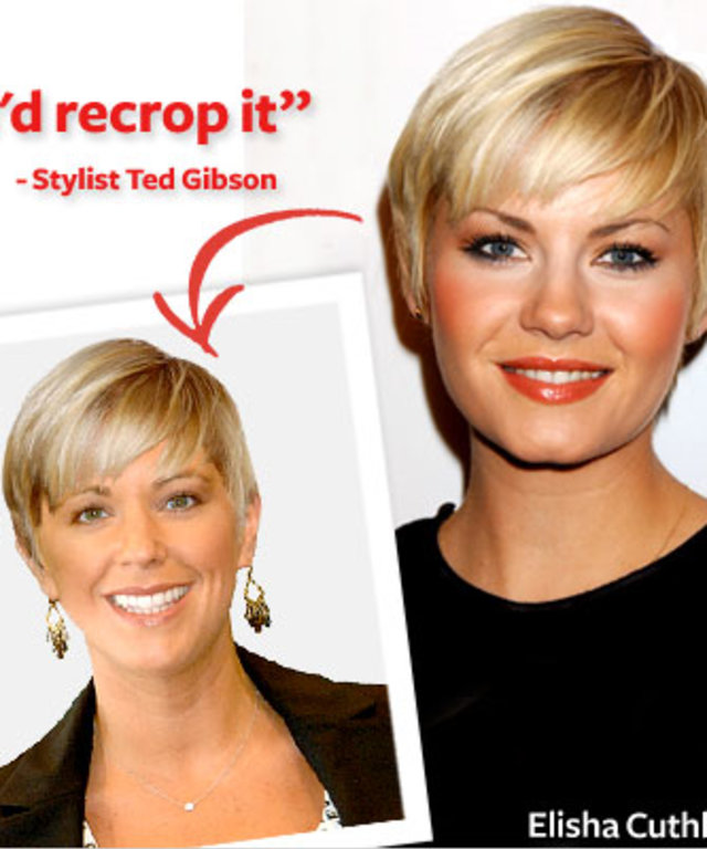 Kate Gosselin - Ted Gibson - Elisha Cuthbert - Hair Makeover