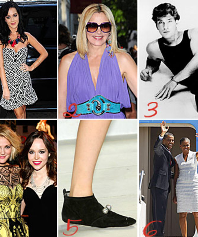 Katy Perry - Kim Cattrall - Sex and the City - Patrick Swayze - Drew Barrymore - Ellen Page - Marc Jacobs - Michelle Obama - Barack Obama