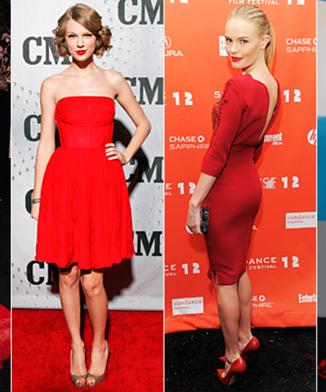 Trend To Try Red Lips Dress
