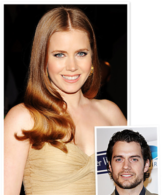 Amy Adams, Henry Cavill