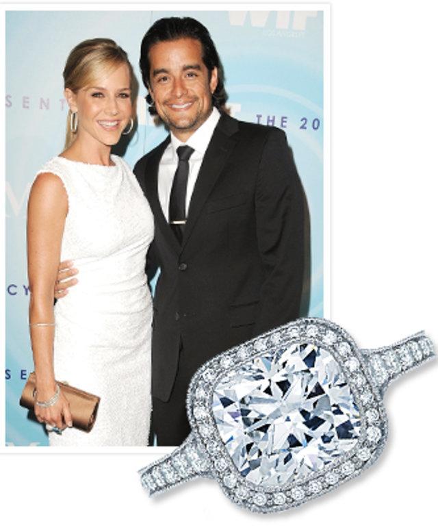 Julie Benz Engagement Ring