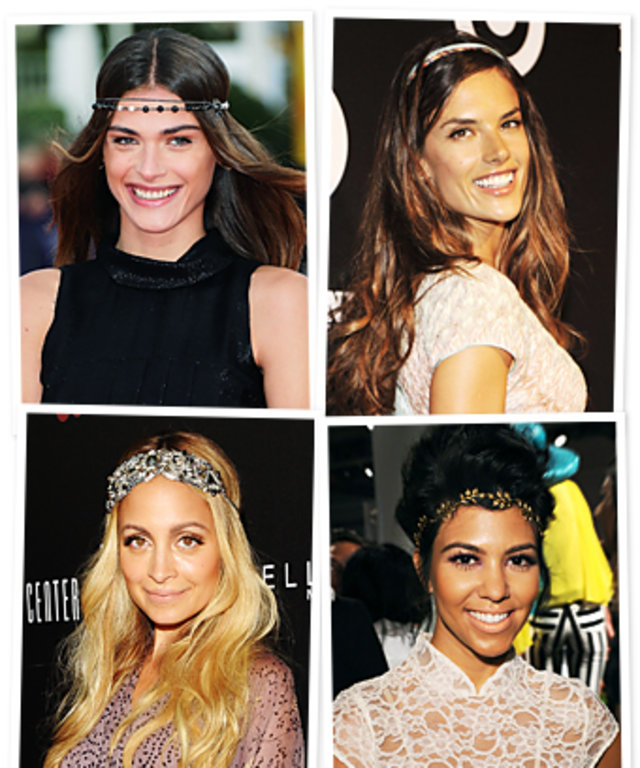 Celebrities Wearing Headbands
