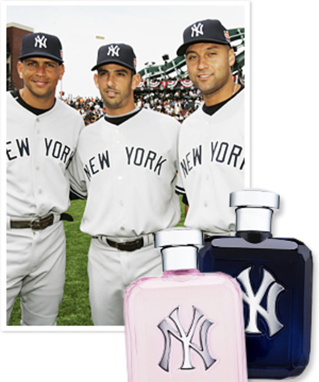 Yankees Fragrance - Alex Rodriguez, Jorge Posada, and Derek Jeter