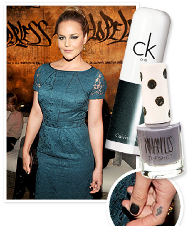 Abbie Cornish Nails