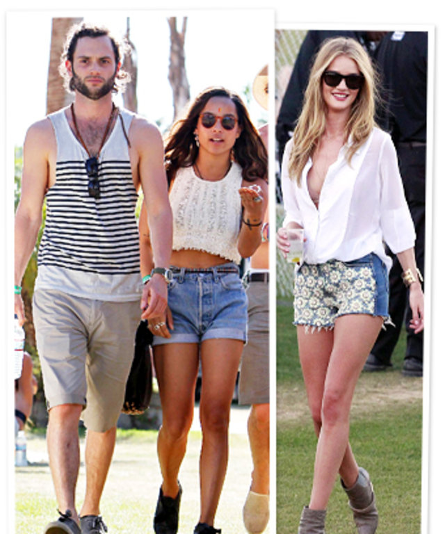 Penn Badgley, Zoe Kravitz, Rosie Huntington-Whiteley