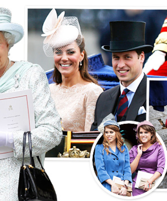 Queen Elizabeth, Duchess Catherine, Prince William, Diamond Jubilee