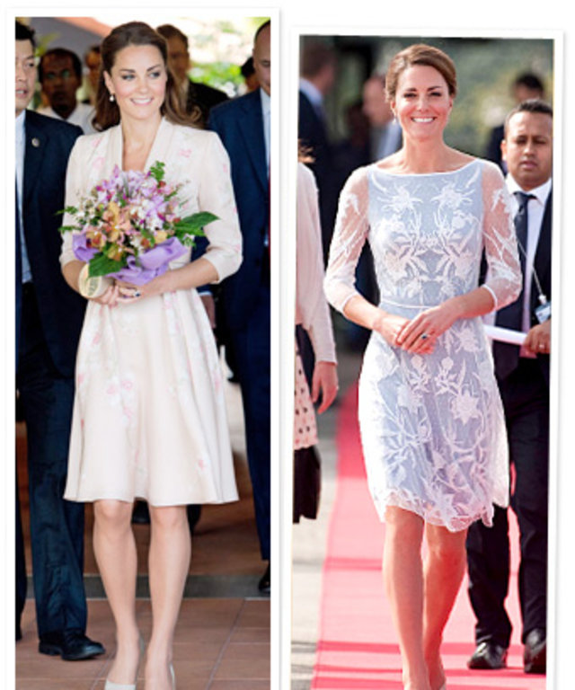 kate middleton asia tour style