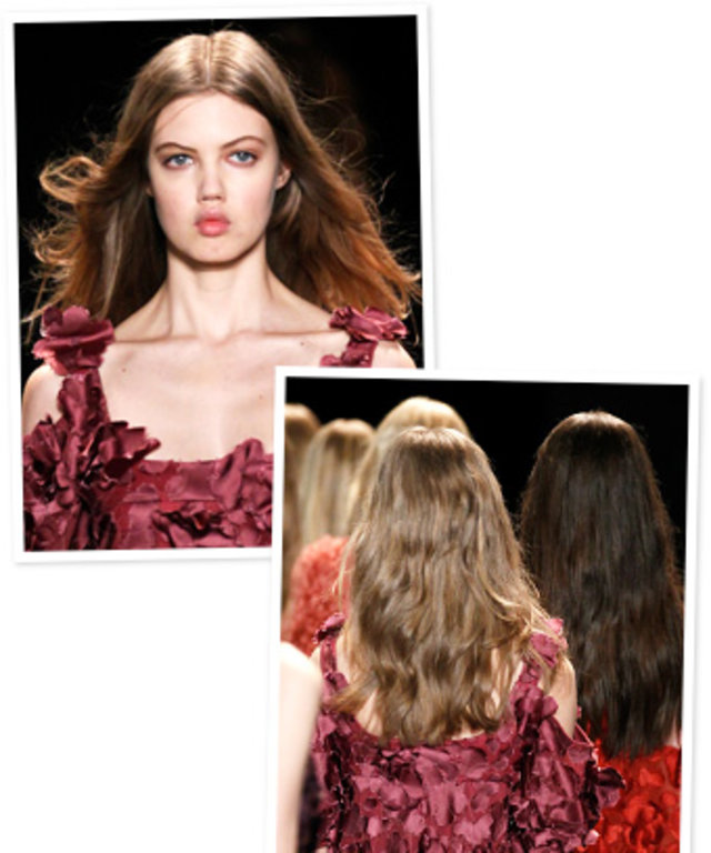 Jill Stuart fall 2013 hair