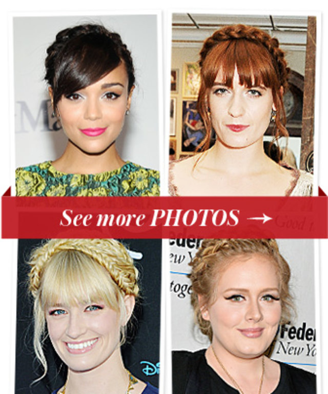 Adele - Beth Behrs - Braided Updos